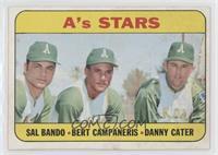 A's Stars (Sal Bando, Bert Campaneris, Danny Cater) [GoodtoVG‑…