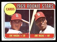 High # - Joe Hague, Jim Hicks [GOOD]