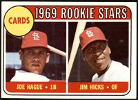 High # - Joe Hague, Jim Hicks [EX]