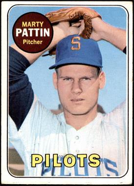 1969 Topps - [Base] #563 - High # - Marty Pattin [VG]