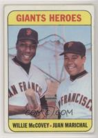 Willie McCovey, Juan Marichal [Poor]