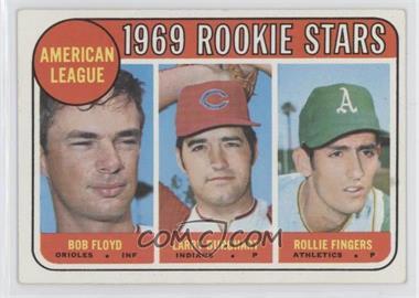 1969 Topps - [Base] #597 - American League 1969 Rookie Stars (Bobby Floyd, Larry Burchart, Rollie Fingers)