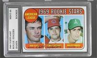 High # - Bobby Floyd, Larry Burchart, Rollie Fingers [Encased]