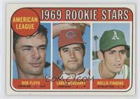High # - Bobby Floyd, Larry Burchart, Rollie Fingers