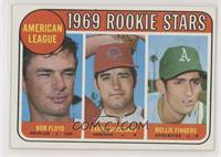 High # - Bobby Floyd, Larry Burchart, Rollie Fingers [Noted]