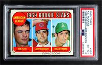 High # - Bobby Floyd, Larry Burchart, Rollie Fingers [PSA 6 EX‑…