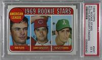 High # - Bobby Floyd, Larry Burchart, Rollie Fingers [PSA 5 EX]