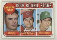 High # - Bobby Floyd, Larry Burchart, Rollie Fingers