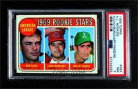 High # - Bobby Floyd, Larry Burchart, Rollie Fingers [PSA 7 NM]