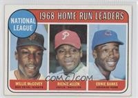 1968 NL Home Run Leaders (Willie McCovey, Richie Allen, Ernie Banks)