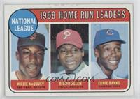1968 NL Home Run Leaders (Willie McCovey, Richie Allen, Ernie Banks)