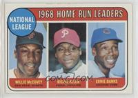 1968 NL Home Run Leaders (Willie McCovey, Richie Allen, Ernie Banks) [Good…