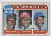 National League Home Run Leaders (Willie McCovey, Richie Allen, Ernie Banks) [A…