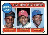 National League Home Run Leaders (Willie McCovey, Richie Allen, Ernie Banks) [N…