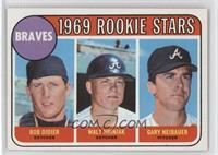 1969 Rookie Stars - Bob Didier, Walt Hriniak, Gary Neibauer