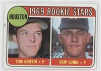 1969 Rookie Stars - Tom Griffin, Skip Guinn