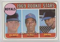 Bill Butler, Pat Kelly, Juan Rios