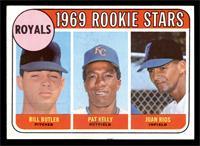 Bill Butler, Pat Kelly, Juan Rios [VG]