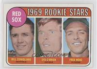 High # - Bill Conigliaro, Syd O'Brien, Fred Wenz