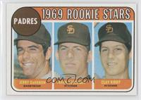 1969 Rookie Stars - Jerry Davanon, Frank Reberger, Clay Kirby