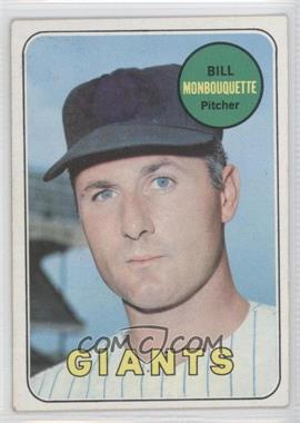 1969 Topps - [Base] #64 - Bill Monbouquette [Poor to Fair]