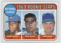 1969 Rookie Stars - Bobby Darwin, John Miller, Tommy Dean