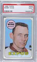High # - Bobby Wine [PSA 9 MINT]