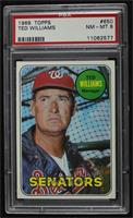 High # - Ted Williams [PSA8NM‑MT]