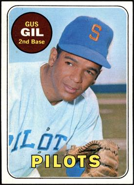 1969 Topps - [Base] #651 - Gus Gil [NM]