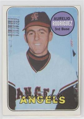 1969 Topps - [Base] #653 - High # - Aurelio Rodriguez, Leonard Garcia (Leonard Garcia (Bat Boy) Pictured on Card)