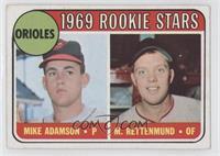 1969 Rookie Stars - Mike Adamson, Merv Rettenmund