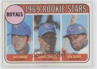 Dick Drago, George Spriggs, Bob Oliver