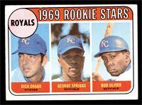 High # - Dick Drago, George Spriggs, Bob Oliver [VGEX]