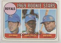 High # - Dick Drago, George Spriggs, Bob Oliver