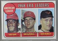1968 AL ERA Leaders (Luis Tiant, Sam McDowell, Dave McNally) [Poor to …