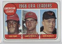 1968 AL ERA Leaders (Luis Tiant, Sam McDowell, Dave McNally) [Good to …