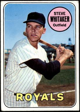 1969 Topps - [Base] #71 - Steve Whitaker [VG]