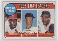 ERA Leaders (Bob Gibson, Bob Bolin, Bob Veale) [Poor to Fair]