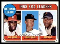 ERA Leaders (Bob Gibson, Bob Bolin, Bob Veale) [EX MT]