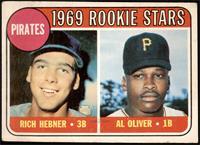 1969 Rookie Stars - Richie Hebner, Al Oliver [FAIR]