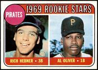 1969 Rookie Stars - Richie Hebner, Al Oliver [NMMT]