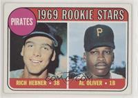 1969 Rookie Stars - Richie Hebner, Al Oliver