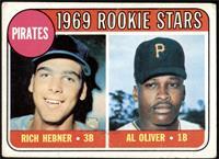 1969 Rookie Stars - Richie Hebner, Al Oliver [GOOD]