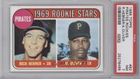 Pirates Rookie Stars (Richie Hebner, Al Oliver) [PSA7]