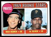 Pirates Rookie Stars (Richie Hebner, Al Oliver) [EX MT]