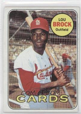 1969 Topps - [Base] #85 - Lou Brock