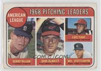 Denny McLain, Luis Tiant, Mel Stottlemyre, Dave McNally [Good to VG&#…