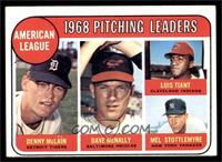 Denny McLain, Luis Tiant, Mel Stottlemyre, Dave McNally [VG EX]
