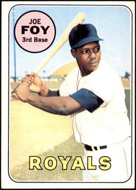 1969 Topps - [Base] #93 - Joe Foy [VGEX]