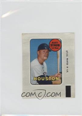 1969 Topps - Decals #RUST - Rusty Staub [Good to VG‑EX]